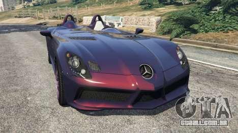 Mercedes-Benz SLR McLaren Stirling Moss para GTA 5