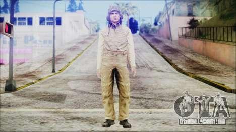 World In Conflict Tank Crewman para GTA San Andreas segunda tela