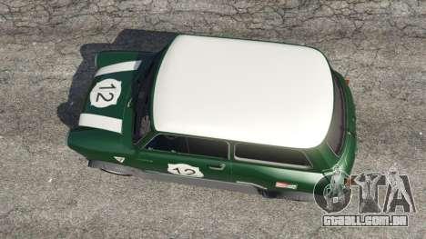 GTA 5 Mini Cooper S 1965 voltar vista