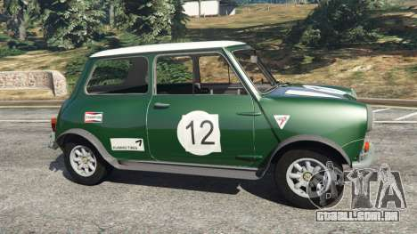 GTA 5 Mini Cooper S 1965 vista lateral esquerda
