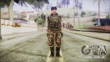 World In Conflict Orlovsky Winter para GTA San Andreas segunda tela