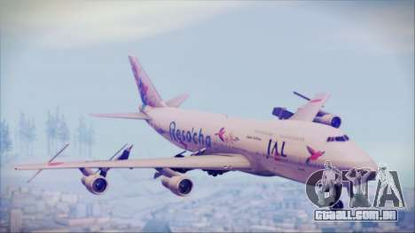 Boeing 747-300 Japan Airlines Resocha para GTA San Andreas
