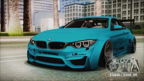 BMW M4 2014 Liberty Walk para GTA San Andreas