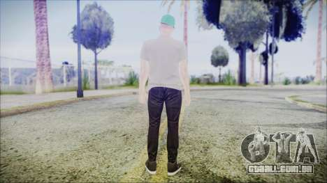 GTA Online Skin 45 para GTA San Andreas terceira tela