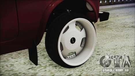 VAZ 2121 Niva 1600 para GTA San Andreas traseira esquerda vista