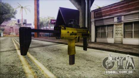 Point Blank MP7 Gold Special para GTA San Andreas segunda tela