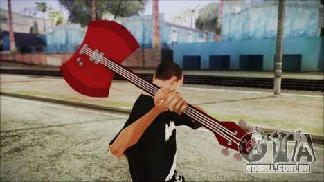 Axe Bass Marceline from Adventure Time para GTA San Andreas terceira tela
