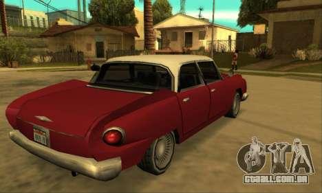 Oceanic Glendale 1961 para GTA San Andreas vista traseira