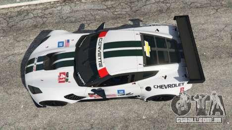 GTA 5 Chevrolet Corvette C7R voltar vista