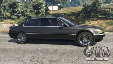 GTA 5 BMW L7 750iL (E38) vista lateral esquerda