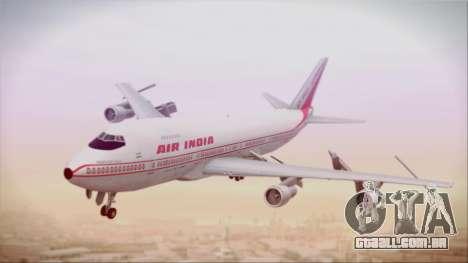 Boeing 747-237Bs Air India Krishna Deva Raya para GTA San Andreas