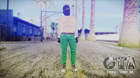GTA Online Skin 56 para GTA San Andreas segunda tela
