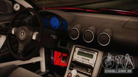 Nissan Silvia S15 Galaxy Drift v1.1 para GTA San Andreas vista direita