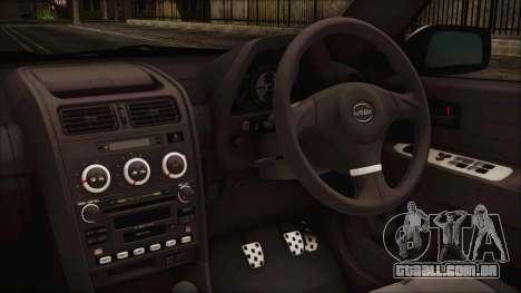 Toyota Altezza 2004 Full Tunable HQ para GTA San Andreas vista direita