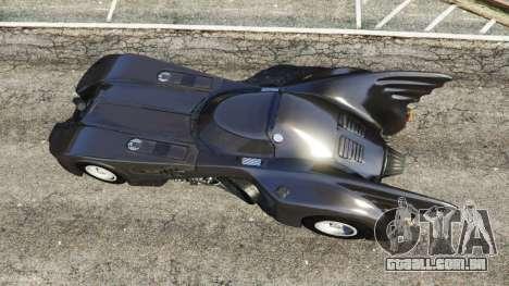 GTA 5 Batmobile 1989 [Beta] voltar vista