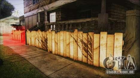 Wooden Fences HQ 1.2 para GTA San Andreas segunda tela