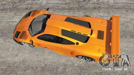 GTA 5 McLaren F1 GTR Longtail voltar vista