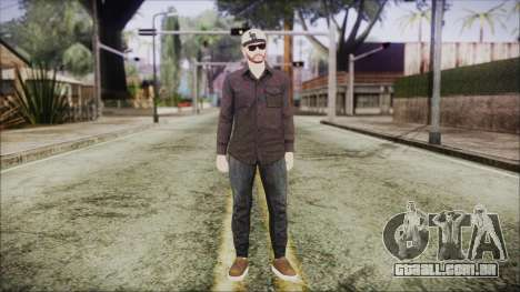 GTA Online Skin 40 para GTA San Andreas segunda tela