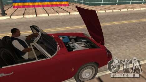 1966 Alfa Romeo Spider Duetto [IVF] para GTA San Andreas vista direita