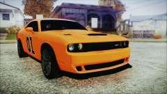Dodge Challenger SRT 2015 Hellcat General Lee