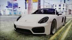 Porsche Boxster GTS 2016 para GTA San Andreas