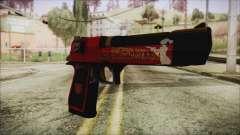 Xmas Desert Eagle para GTA San Andreas