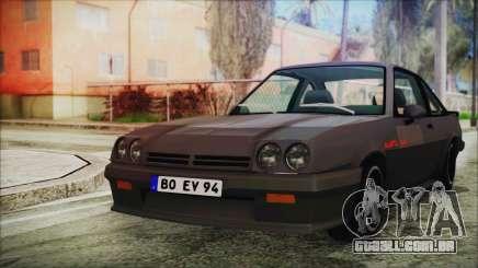Opel Manta GSi Exclusive para GTA San Andreas