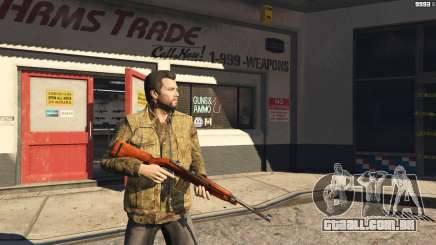 .30 Cal M1 Carbine Rifle para GTA 5