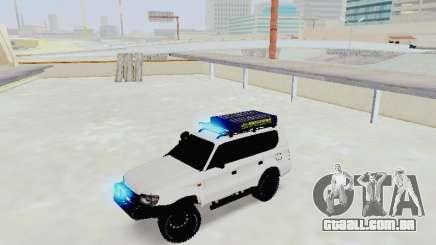 Toyota Land Cruiser Prado off-road LED para GTA San Andreas