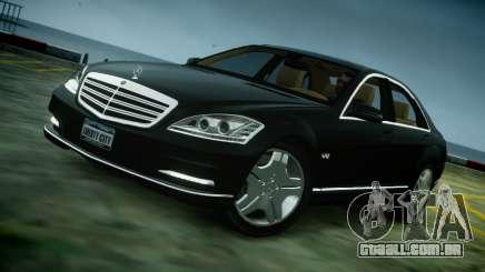 Mercedes-Benz S600 2011 para GTA 4