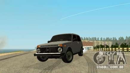VAZ 2123 Niva auto Som para GTA San Andreas
