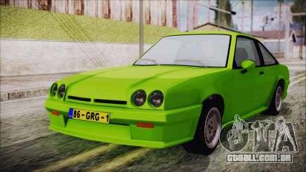 Opel Manta New Kids HQ para GTA San Andreas