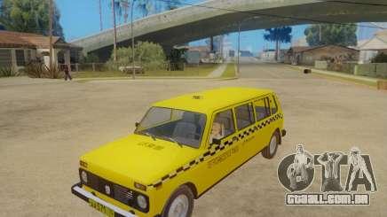 VAZ 2131 7-Porta de Táxi para GTA San Andreas