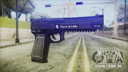 GTA 5 Pistol .50 v2 - Misterix 4 Weapons para GTA San Andreas