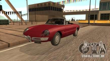 1966 Alfa Romeo Spider Duetto [IVF] para GTA San Andreas