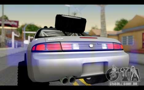 Nissan Silvia S14 Rusty Rebel para GTA San Andreas vista direita