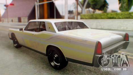 GTA 5 Vapid Chino Tunable para GTA San Andreas vista superior