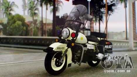 New Police Bike para GTA San Andreas