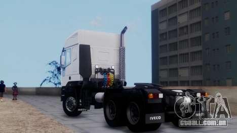 Iveco EuroTech v2.0 para GTA San Andreas esquerda vista