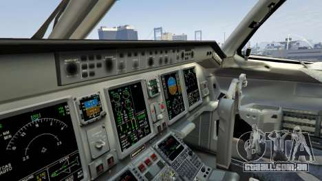 GTA 5 Embraer 195 Wind quarto screenshot