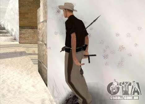Tiro com arco para GTA San Andreas quinto tela