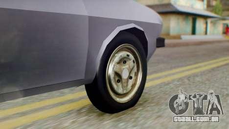 Dacia 1310 v2 para GTA San Andreas traseira esquerda vista