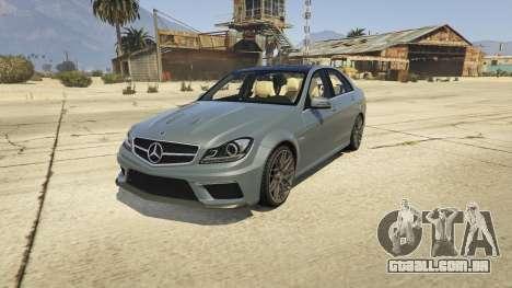 Mercedes-Benz C63 AMG v2 para GTA 5