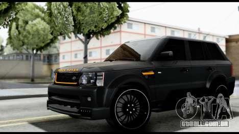 Range Rover Sport 2012 para GTA San Andreas