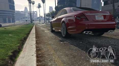 GTA 5 Mercedes-Benz E63 AMG v2.1 voltar vista