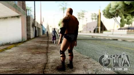 WWE The Rock para GTA San Andreas terceira tela