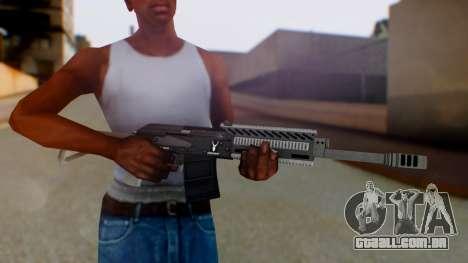 GTA 5 Heavy Shotgun - Misterix 4 Weapons para GTA San Andreas terceira tela