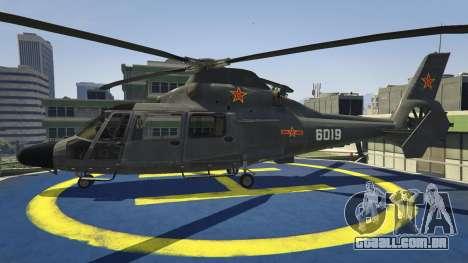 GTA 5 Harbin Z-9 segundo screenshot
