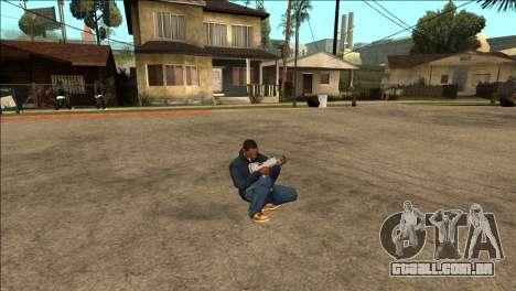 Animação adicionais TEC-9 para GTA San Andreas terceira tela