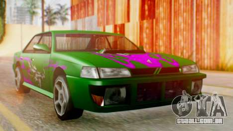 Sultan Винил из need For Speed Underground 2 para GTA San Andreas